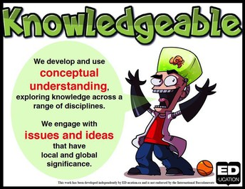 IB Profile Word for October: Knowledgeable