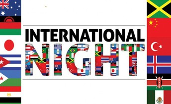 International Night Friday, October 19, 2018 6:30 pm - 8:30 pm sponsored by SWCC
