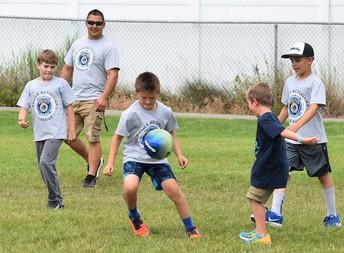 school plus child care will begin September 14