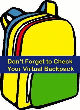 Virtual Backpack Flyers