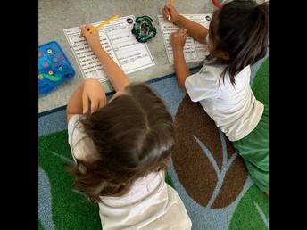 1st Grade Partner Fluency Practice!
