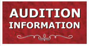 HMS Audition Recordings DUE NEXT WEEK!
