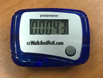 Pedometers for Students and the Walk Across America Challenge!