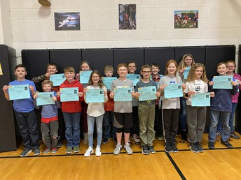 5th Grade All A Honor Roll