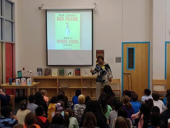 Author Visit at Rolling Meadows