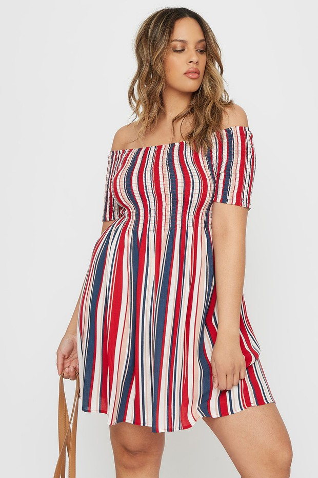 plus-size mini dress