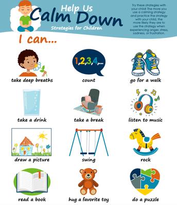 Calm Down Strategies for Children