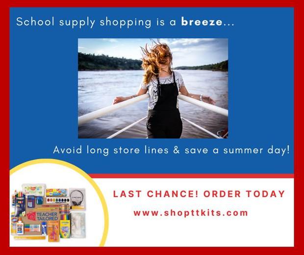 Order WCHE school supplies here using code 79519