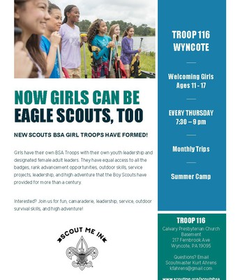Girls Eagle Scouts
