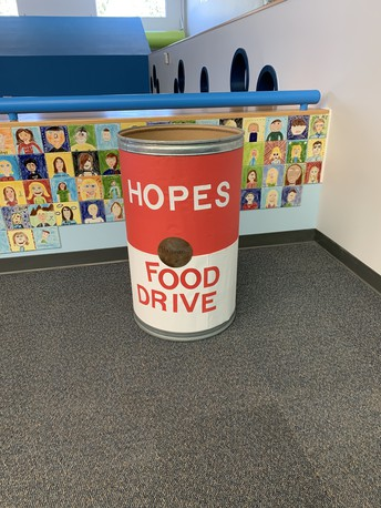 FOOD DRIVE - THAT'S A WRAP!