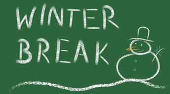 Winter Break- December 22-January 8