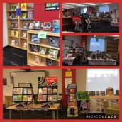 The December Scholastic Book Fair was a great success!