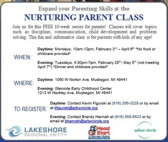 Free parenting Classes!