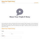 Share your Triple E Lesson Story!