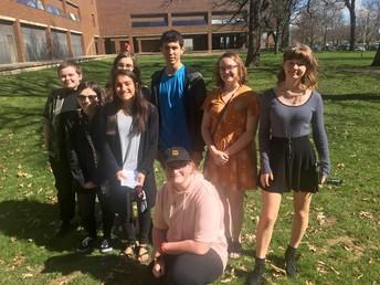 Burbs Art Show at Drake University...UHS artists claim 13 awards