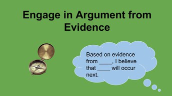 Engaging in Argumentation from Evidence