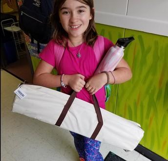 4th Grade Roaring Reader Winner
