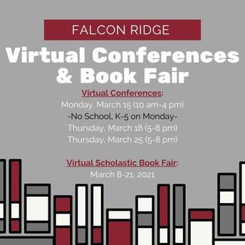 K-5 Virtual Conferences and Book Fair