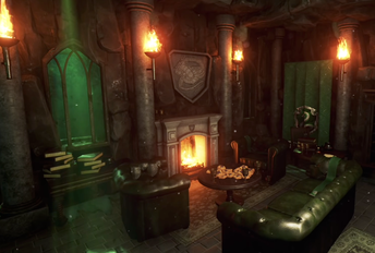 Relax in the Slytherin Common Room.