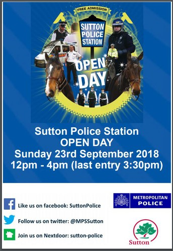 Sutton Police Open Day