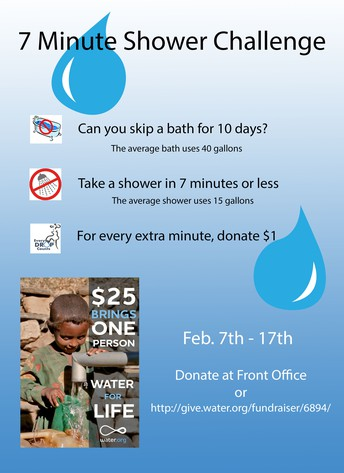 Water Initiative Shower Challenge