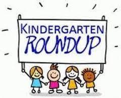 It's Time for Kindergarten Roundup!