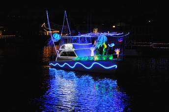 Huntington Harbour's 56th Annual Boat Parade
