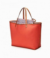 Reversible Tote - Bees/Coral