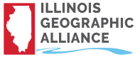 The Geo-Inquiry Process workshops are proudly sponsored by the Illinois Geographic Alliance in conjunction with our partners the Geographic Society of Chicago and the Geographic Alliance of Iowa.