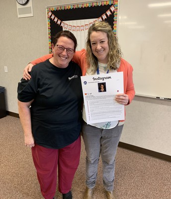 Mighty Mustang Staff Member of the Month