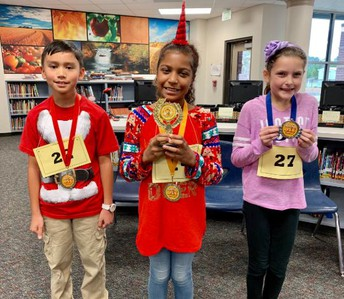 Congratulations to our campus Spelling Bee winners!