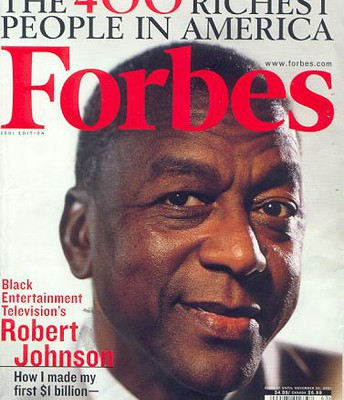 Robert Johnson First Black Billionaire in America