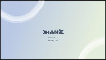 Lesson: Change