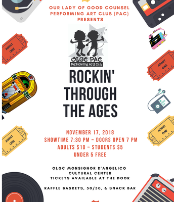 "PAC 2018 Fall Show ""Rockin' Through the Ages"""