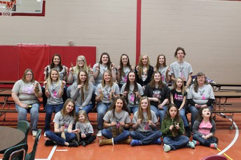 21 Hair Donations From Flambeau School