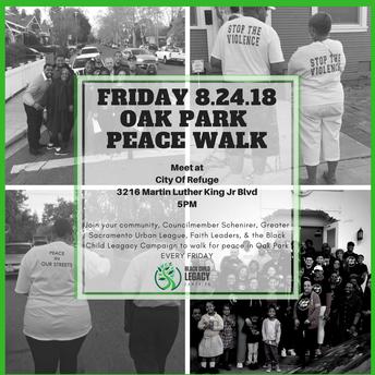Oak Park Peace Walk 08.24.18