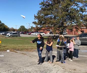 5th Grade field-testing paper airplane designs
