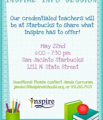 San Jacinto Info Session!