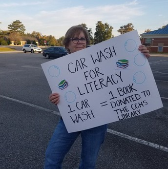 Car Wash for Literacy!