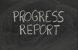 Progress Reports Due– October 9th