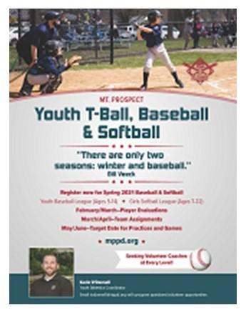 MPPD Baseball Flyer