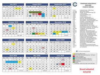 Calendar Committee Meetings
