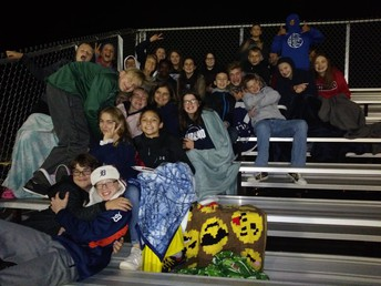 Student Section at Varsity Football Game