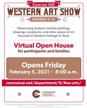 Virtual Western Art Show