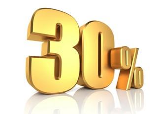 Aprovecha y compra con hasta 30% de descuento