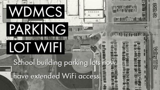 WDMCS Parking Lot WiFi