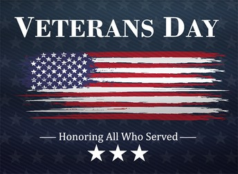 Happy Veteran's Day and Thank You!