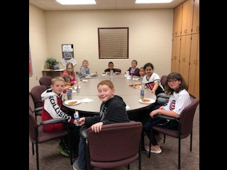 February Attendance Pizza Lunch Bunch