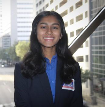 Gowri Rangu -Treasurer