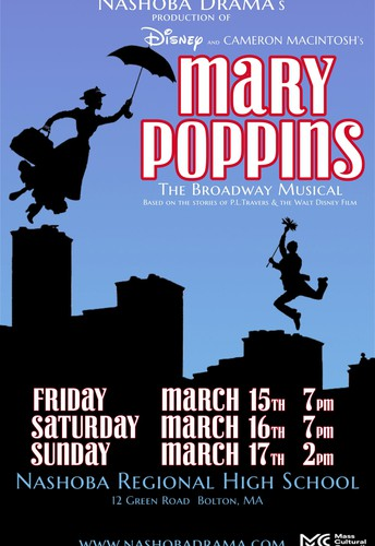 NRHS Drama presents the Broadway Musical Mary Poppins